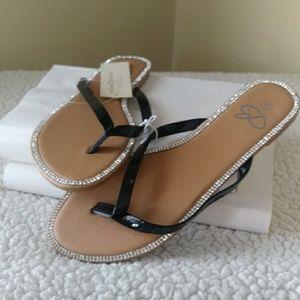 Shoes - Womens Hard Sole Sandal Bobbie Brooks
